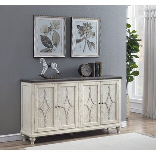 Bernard 4 Door Media Credenza Ophelia & Co.
