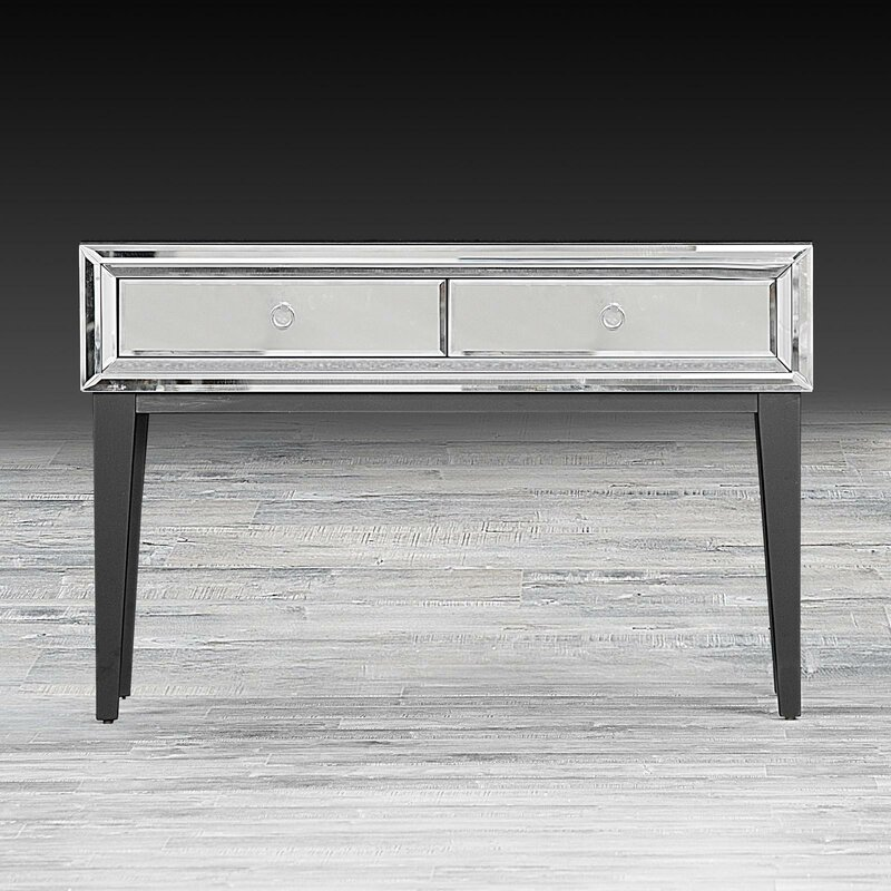 Mila Mirrored Console Table