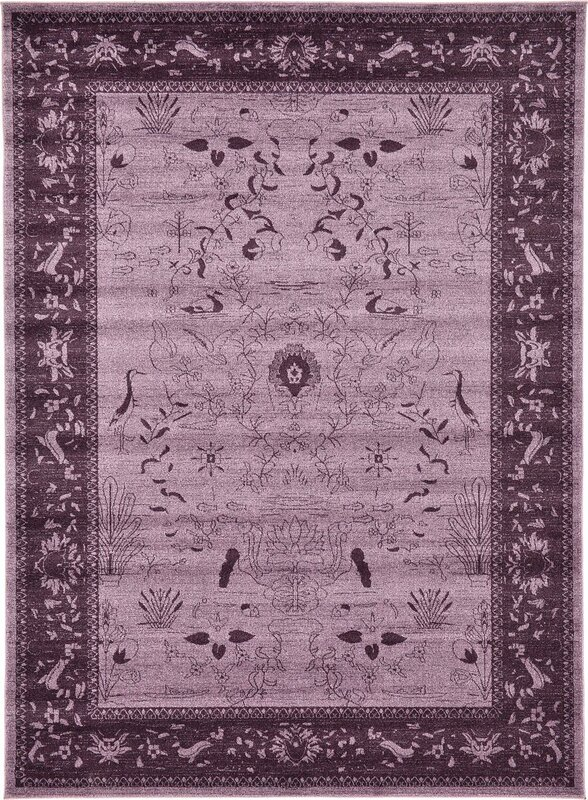 Shailene Purple Area Rug