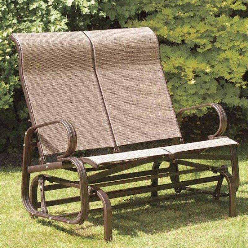 SunTime Outdoor Living Havana Twin Seat Bench Glider & Reviews | Wayfair