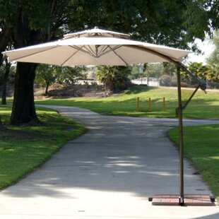 LB International 9.5' Cantilever Umbrella