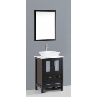 Netto 24 Single Bathroom Vanity Set with Mirror by Ebern Designs
