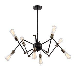 Williston Forge Mendivil 8-Light Chandelier