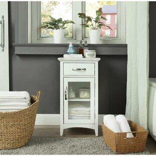 Laskie 16 W x 30 H x 13 D Linen Cabinet by One Allium Way