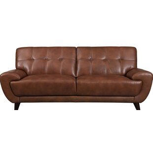 Sterns Craft Leather Sofa