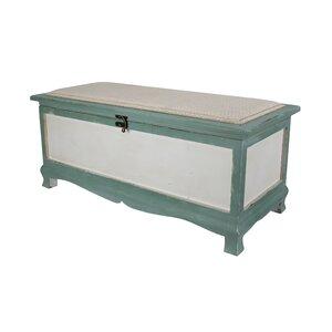 Shabby Wood Storage Bench