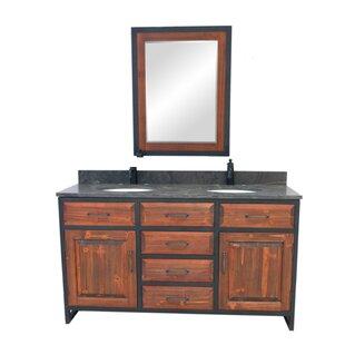 60 inch  Double Bathroom Vanity Set