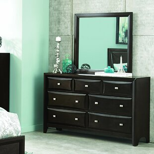 Ryerson 7 Drawer Dresser with Mirror
