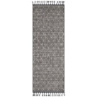 Check Prices Kress Bohemian Charcoal/Taupe Area Rug By Union Rustic