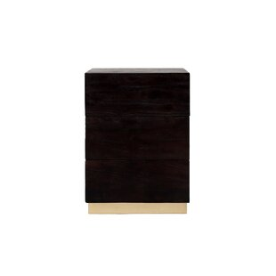 Ansley 3 Drawers Nightstand by Mercer41