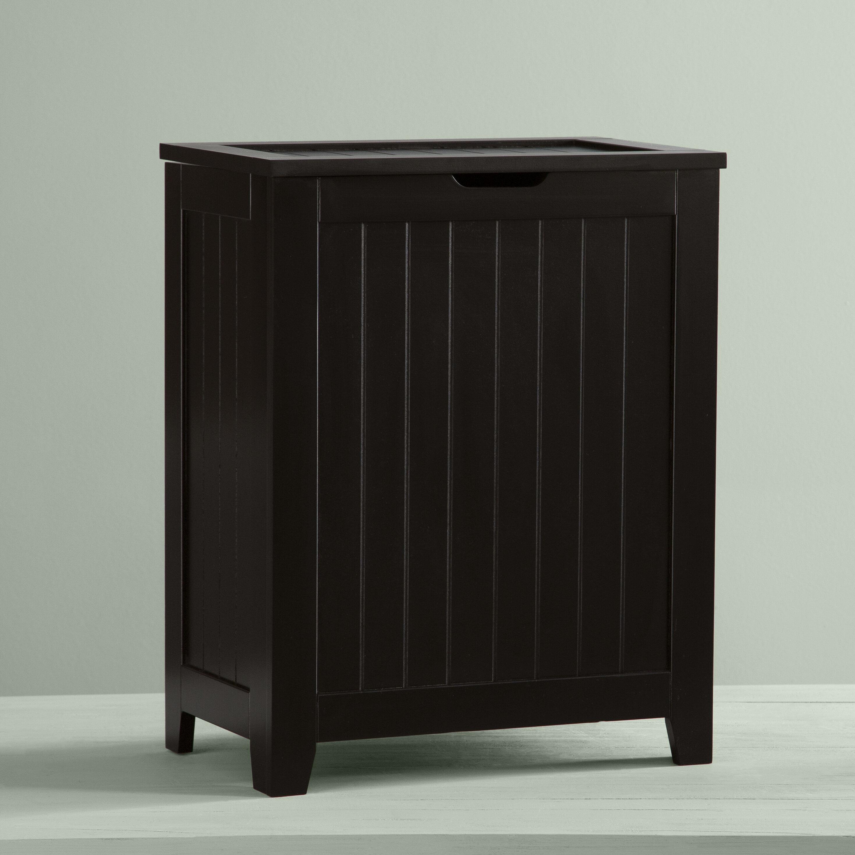 7b5b26a3972f Laurel Foundry Modern Farmhouse Contemporary Cabinet Laundry Hamper &  Reviews | Wayfair