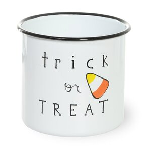 Enamel Trick or Treat Canister