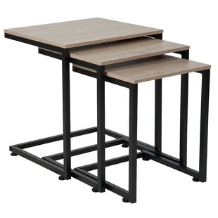 Deals Nault 3 Piece Nesting Tables by Ebern Designs Reviews (2019) & Buyer's Guide