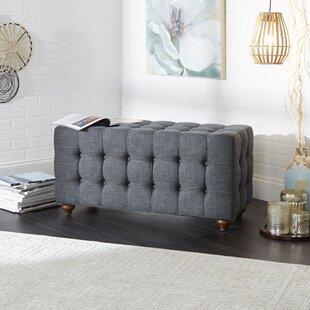 Charlton Home Sindelar Tufted Upholstered Bench