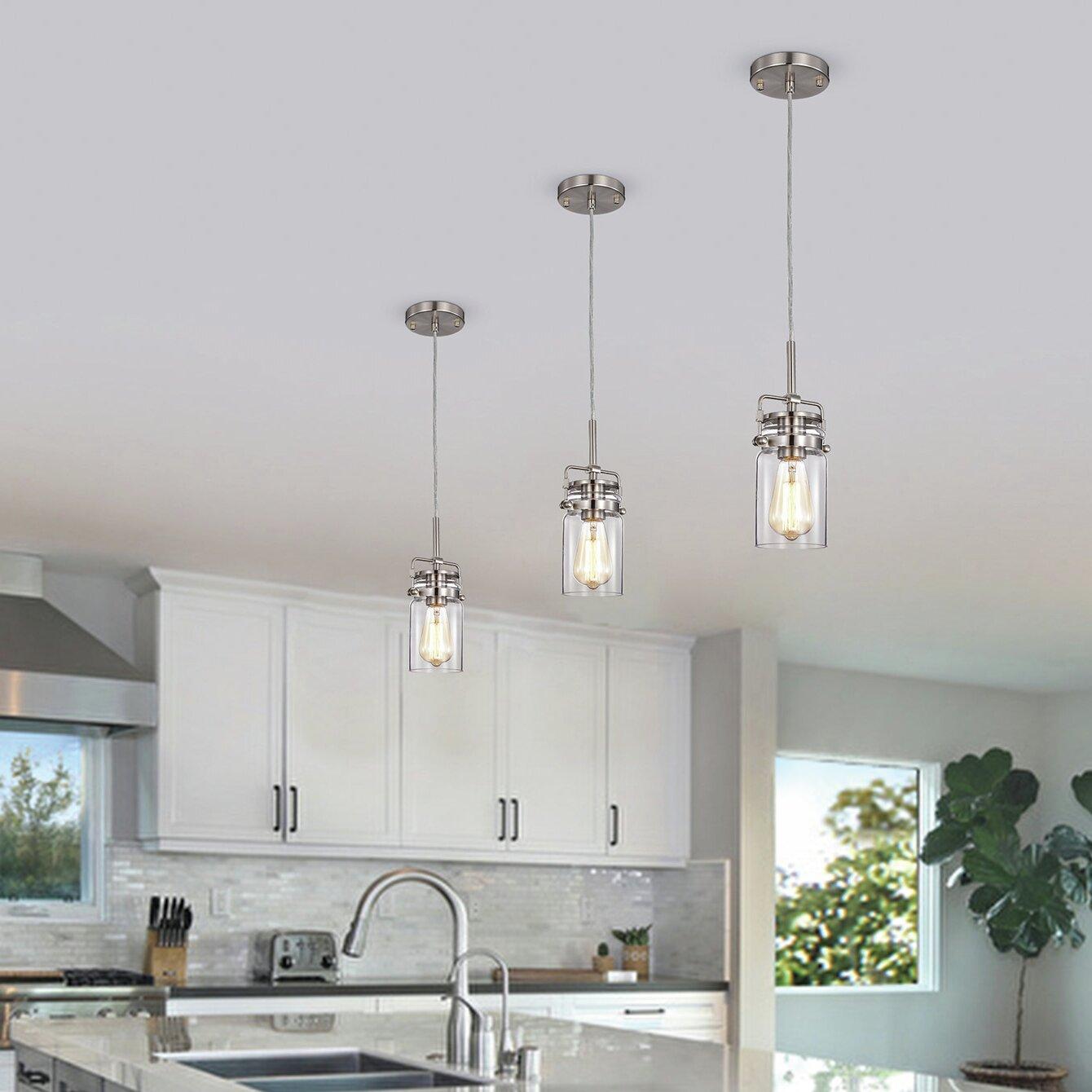 Ceiling Lights ISRAMP 9 Pack Kitchen Bar Lights Pendant Lighting ...
