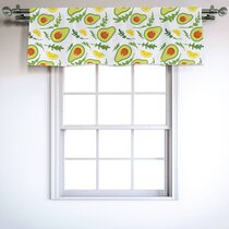 Fruit Valances Kitchen Curtains You Ll Love In 2021 Wayfair
