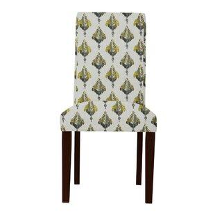 Latitude Run Beachwood Ferns Parsons Chair (Set of 2)