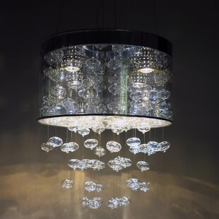 dCOR design Particle 4-Light Chandelier
