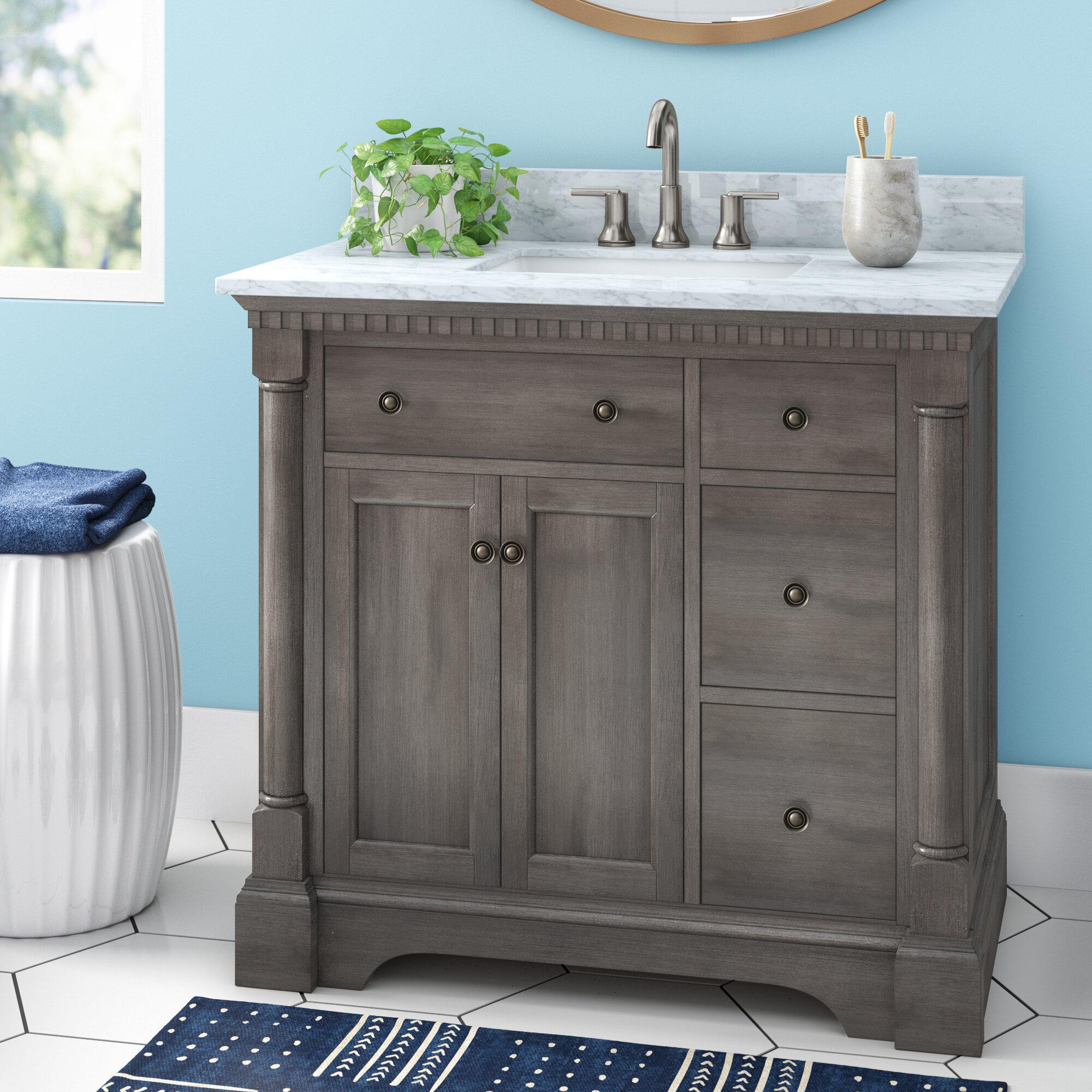 Seadrift 37 Single Bathroom Vanity Set Reviews Joss Main