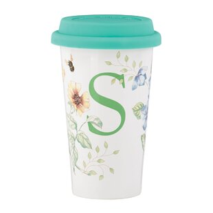 Butterfly Meadow Thermal Travel Mug