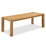 Bollinger Solid Oak Dining Table by Foundry Select