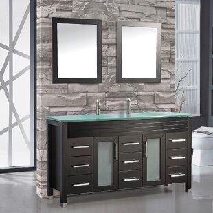 Prall 63 Double Sink Bathroom Vanity Set By Orren Ellis