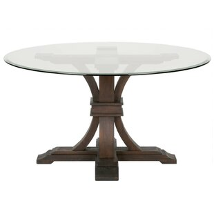 Olivia Statuesque Dining Table by Rosdorf Park