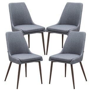 Brayden Studio Taft Avenue Upholstered Dining Chair (Set of 4)
