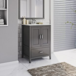 Crist Freestanding Style 24 Single Sink Bathroom Vanity Set By Charlton Home