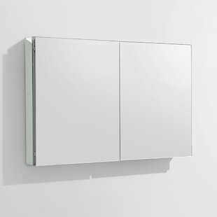 Shopping for 39.5 x 26.13 Recessed or Surface Mount Frameless Medicine Cabinet By Fresca