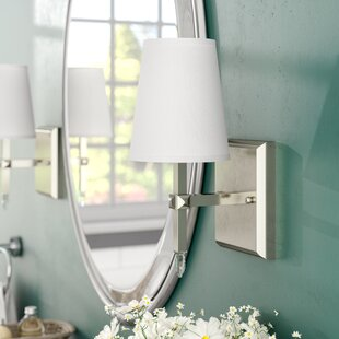 Charlton Home Omaha 1-Light Bath Sconce