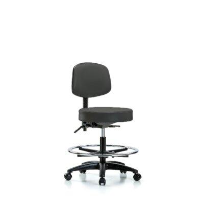 Fine Monserrat Medium Bench Height Adjustable Lab Stool With Back Ibusinesslaw Wood Chair Design Ideas Ibusinesslaworg