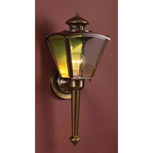 1-Light Outdoor Sconce by Volume Lighting