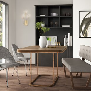 Shoalhaven Rectangle Dining Table by Mercury Row 2019 Online