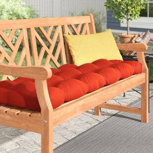 Sarver Indoor/Outdoor Bench Cushion