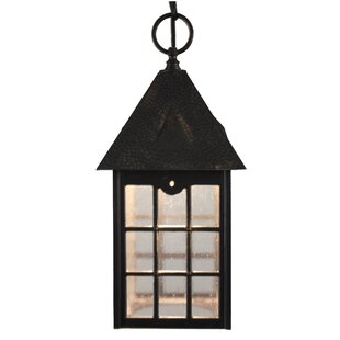 Best Reviews Flannigan 1-Light Outdoor Hanging Lantern By Charlton Home