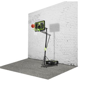 Galaxy Portable Basketball Hoop And Net By Exit Toys