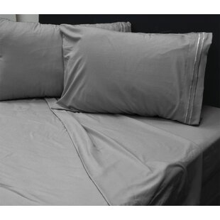 Buffington Softness Solid Sheet Set by Canora Grey Spacial Price