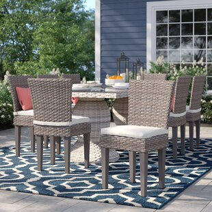 Rockport Patio Dining Chair with Cushion (Set of 8) Best Choices