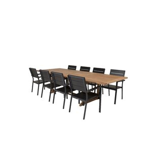 Baek 8 Seater Dining Set By Sol 72 Outdoor