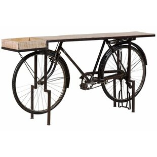 17 Stories Durgin Bicycle Console Table