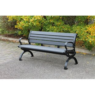 Mckinzie Atlantic Aluminium Traditional Bench By Sol 72 Outdoor