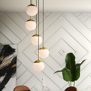 Yearby 5-Light Cluster Pendant by Mercury Row