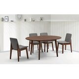 Mello 5 Piece Extendable Solid Wood Dining Set by Ivy Bronx