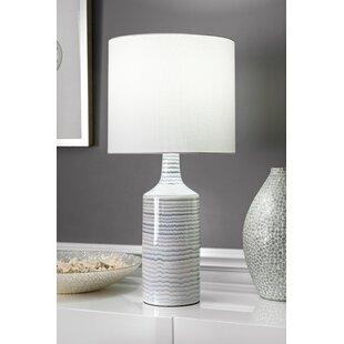 Shopping for Sherlyn Ceramic Linen Shade 28 Table Lamp By Mistana