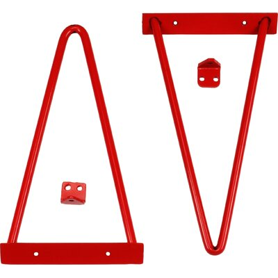 Tronk Design Adams Shelf Bracket Finish: Red