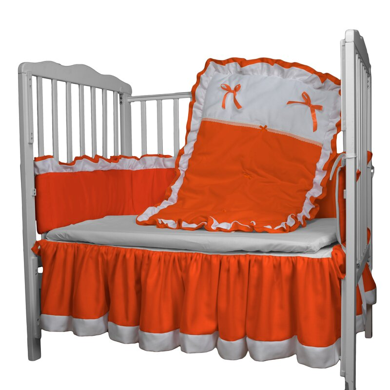 4 Piece Crib Bedding Set