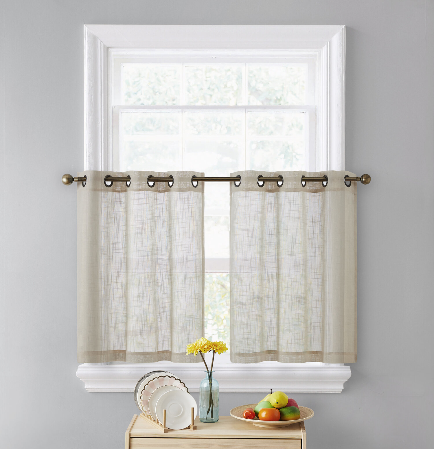 Wayfair Linen Valances Kitchen Curtains You Ll Love In 2021