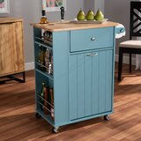Gordi Liona Kitchen Cart by Gracie Oaks