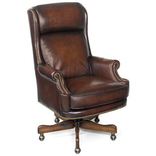 James River Genuine Leather Executive Chair
